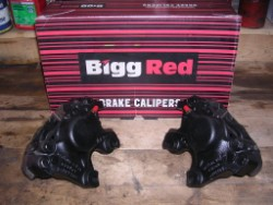 Bigg Red reconditioned the rear calipers.